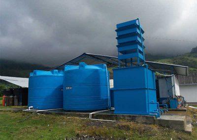 Planta de agua para industrias