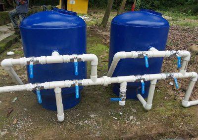 Planta de agua potable Colombia
